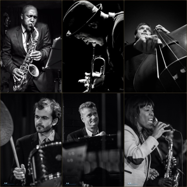 Cannonball Sextet collage